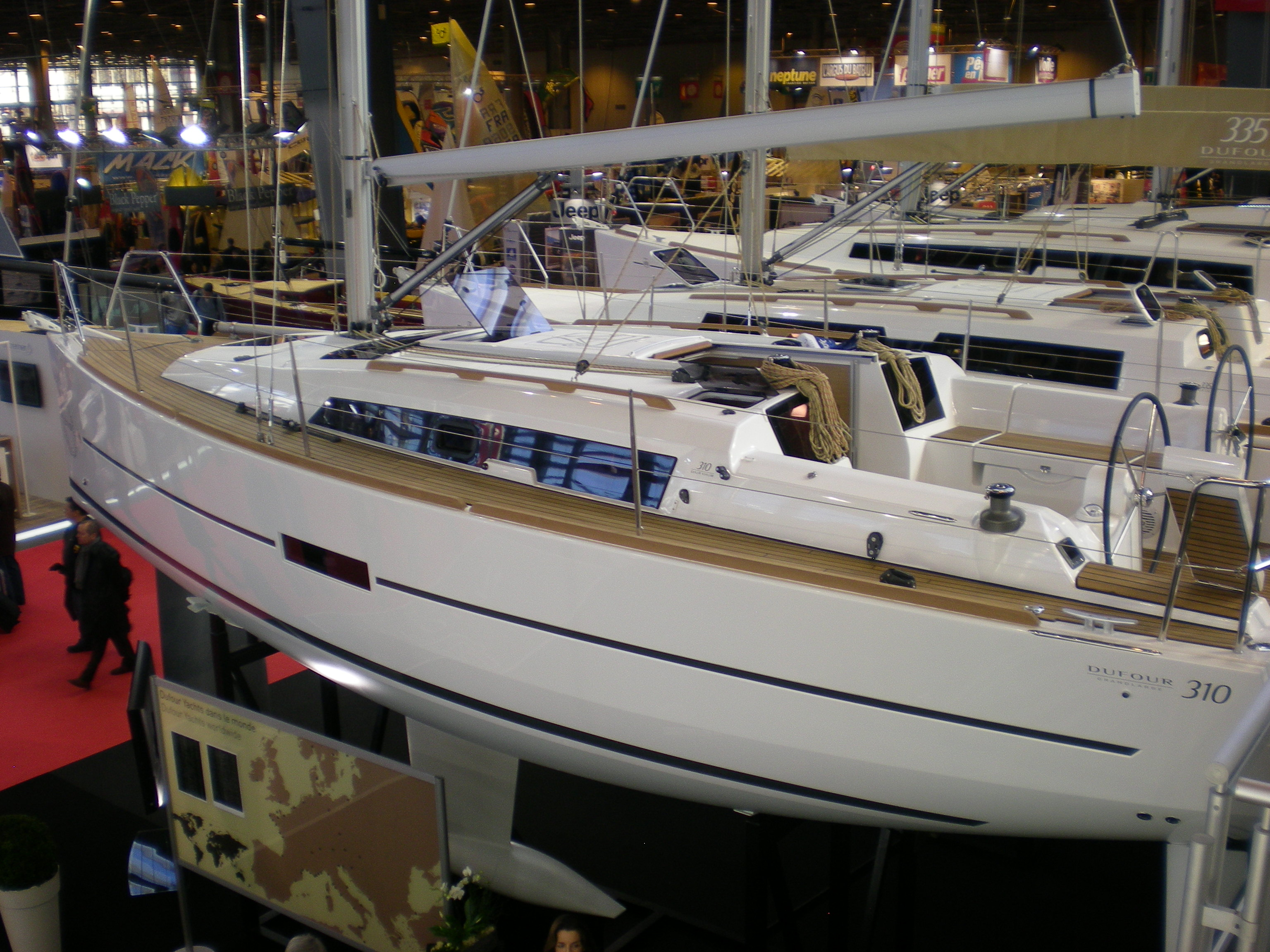 Dufour 310 Grand Large Premiered at Paris Boat Show 2013
