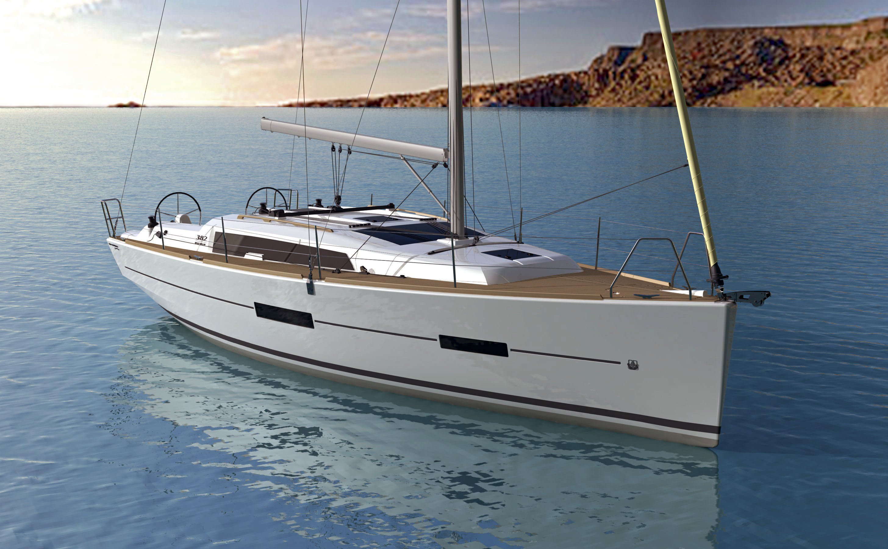 Dufour 382 Grand Large Premiered at The London Boatshow!